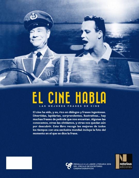 El Cine Habla Las Mejores Frases De Cine Notorious Ediciones